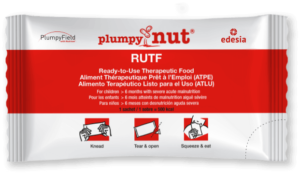 Package of Edesia plumpy nut