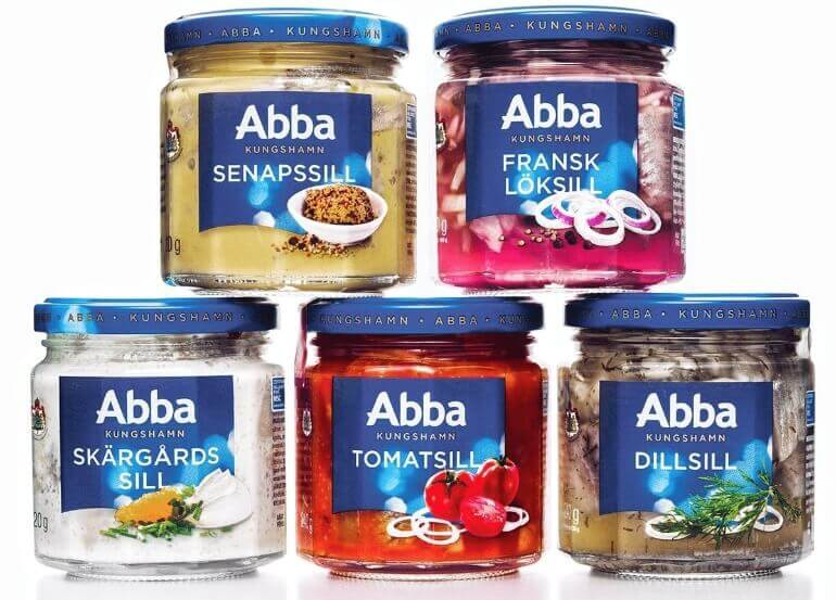 Abbas herring in different flavours