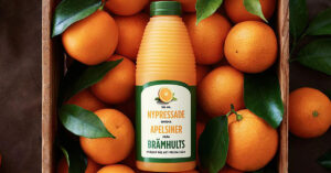 Brämhults juice and oranges