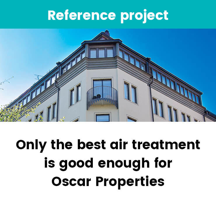 Air treatment solution for Oscar Properties