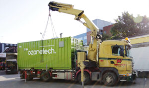 Container air and water treatment solutions