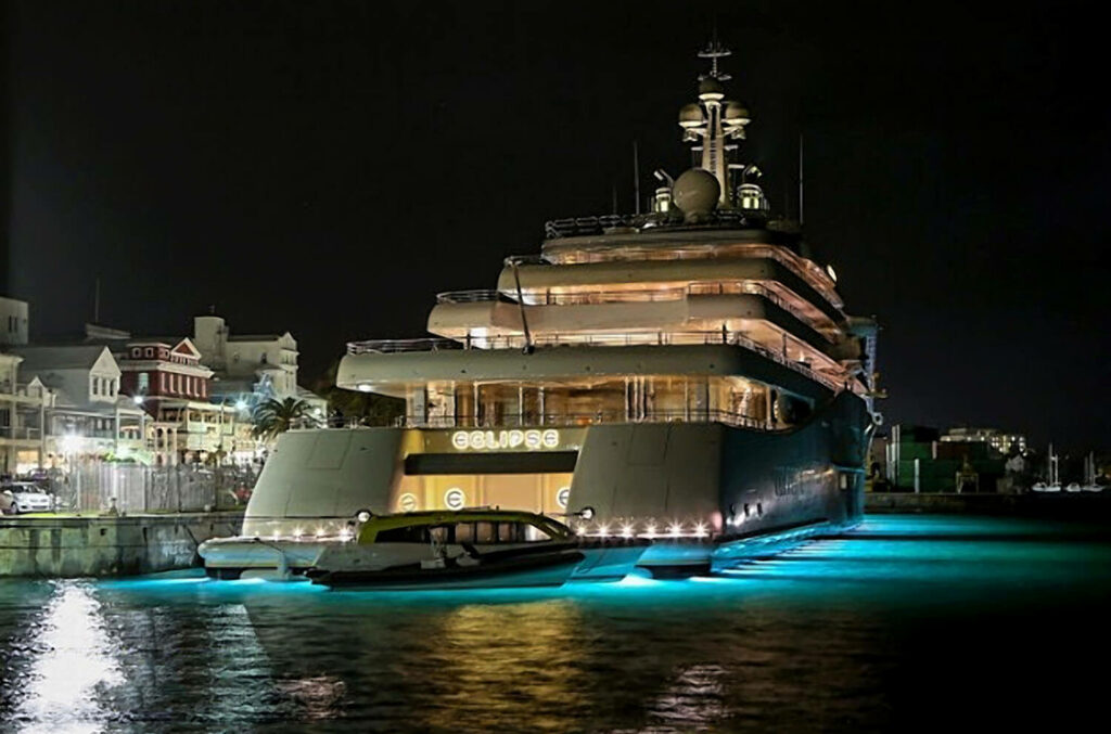 Private yacht Eclipse