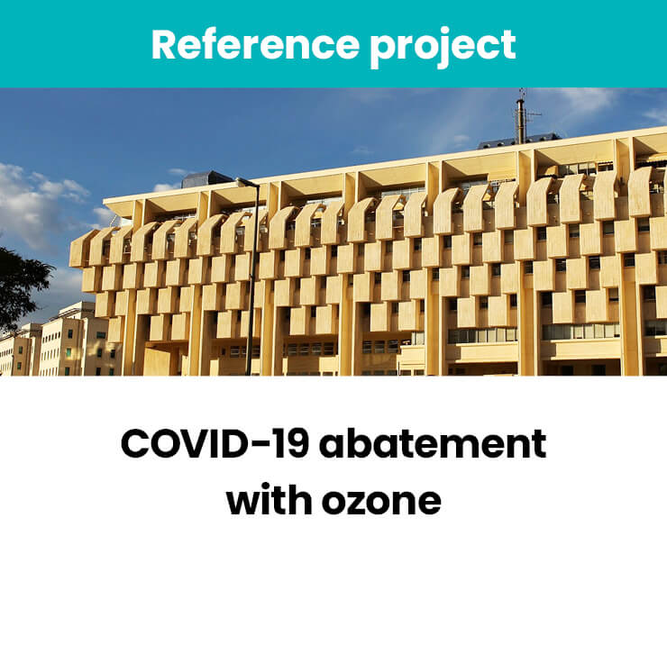 COVID-19 abatement with ozone