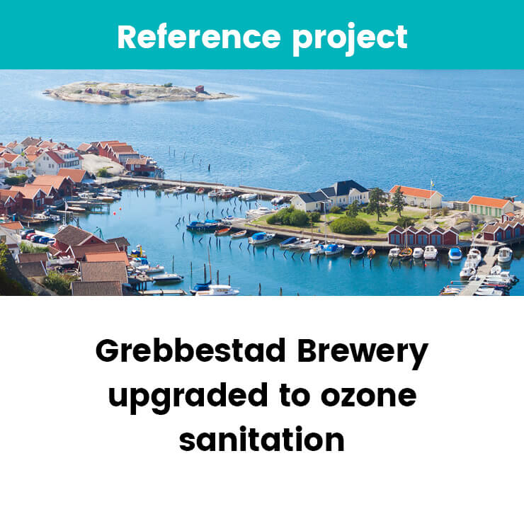 Grebbestad Brewery upgraded to ozone sanitation