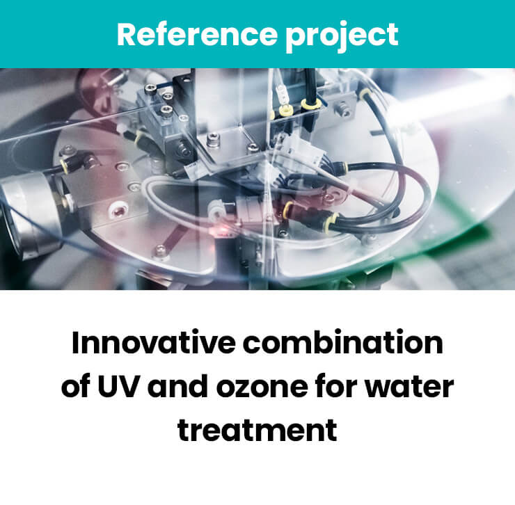 UV and ozone for water tretment