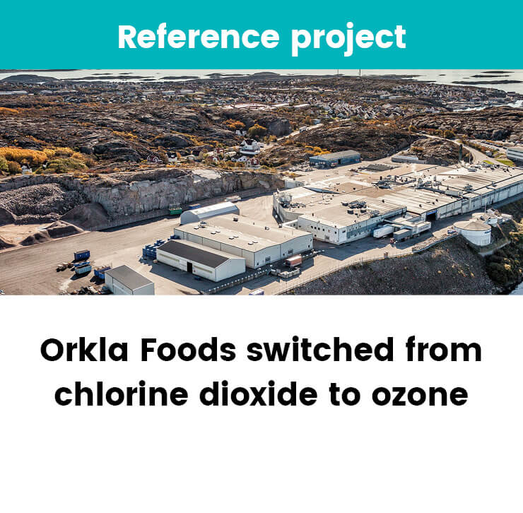 Factory switched from chlorine dioxide to ozone