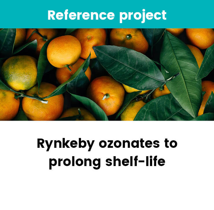 Rynkeby ozonates to prolong shelf-life