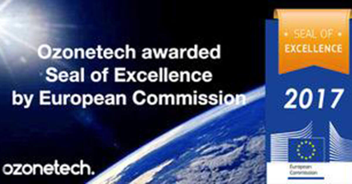 Ozonetech awarded Seal of Excellence
