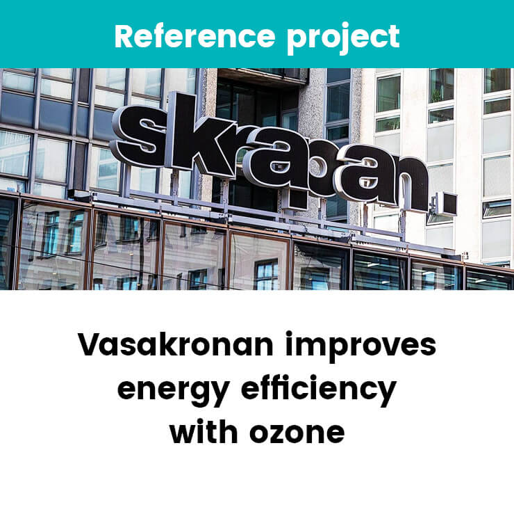 Vasakronan improves energy efficiency with ozone