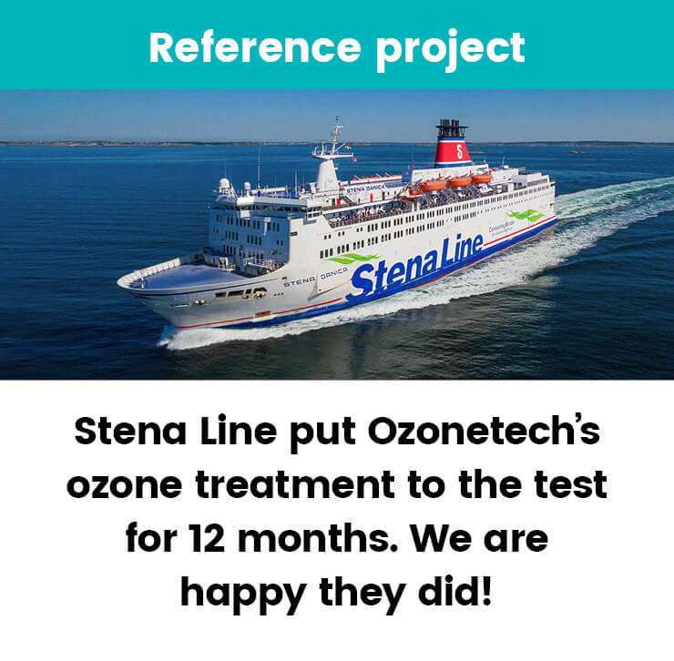 Ozone treatment at Stena Line