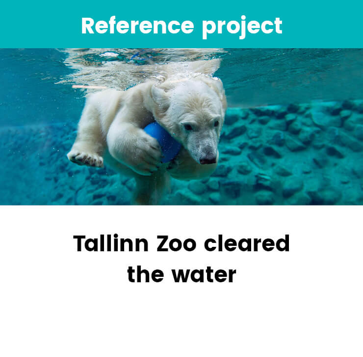 Tallinn Zoo cleared the water with ozone