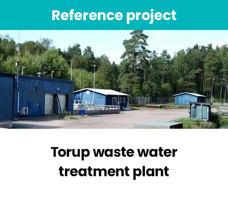 Torup waste water treatment plant