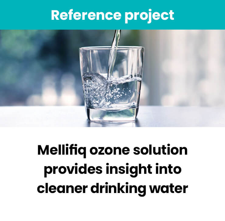 Mellifiq ozone solution into cleaner drinking water