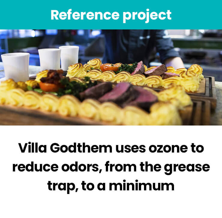 Villa Godthem uses ozone to reduce odors